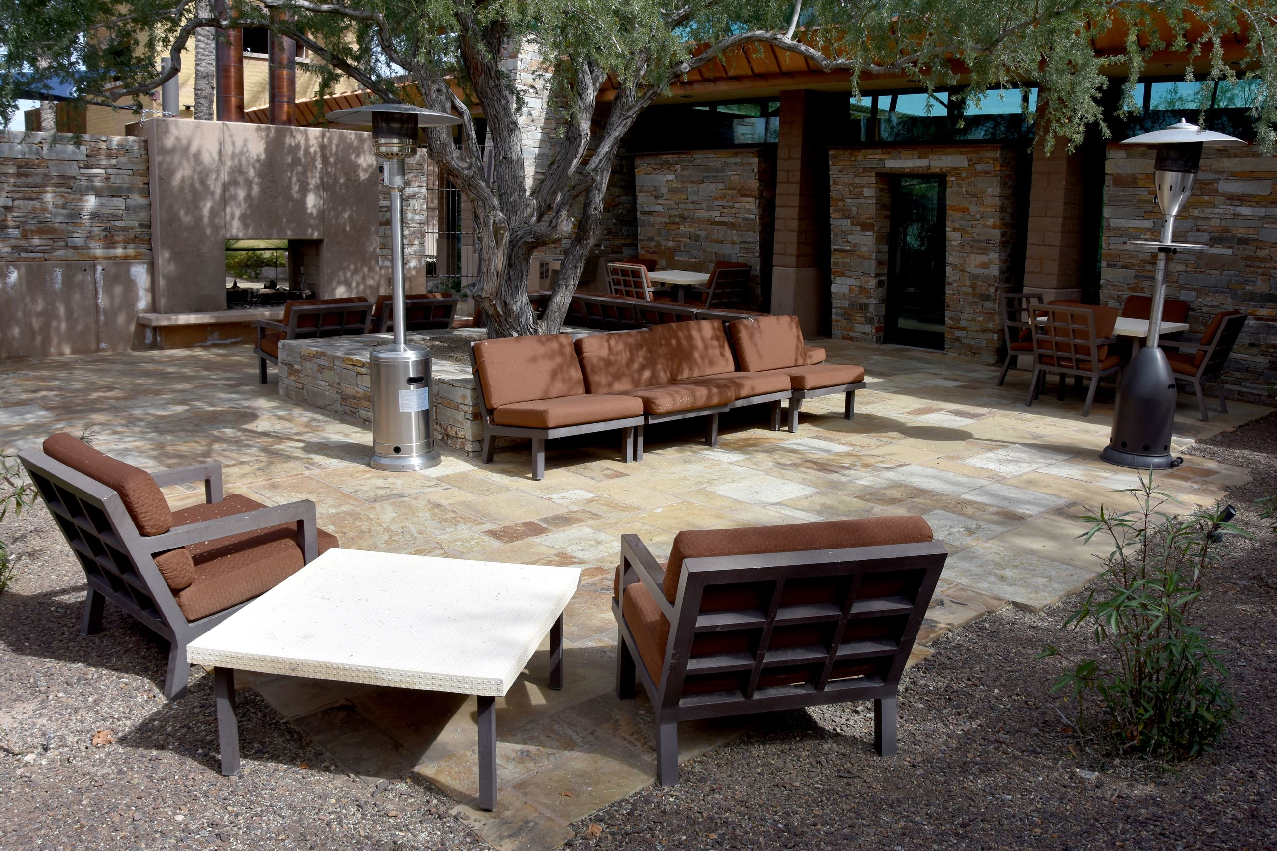 ASSOCIATION OFFICE PATIO